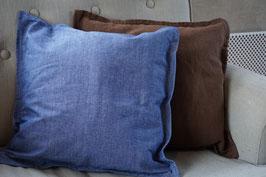 Sierkussen Denim Blauw 50 x 50 cm.