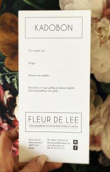 Cadeaubon Fleur de Lee