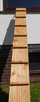 Douglasie Katzenleiter 21,5 cm breit mit Klemmvorrichtung