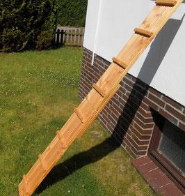 Douglasie Katzenleiter 21,5 cm breit mit großen Bügeln