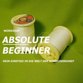 Absolute Beginner Sa/So 15./16.08.2020