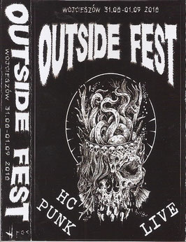 Various ‎Artists – Outside Fest Vol.7 / 2018 - Kassette Tape MC