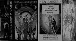 SURYA & ABOUT SHELTER MC Live-Split-Tape Cassette