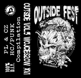 "OutSide Wojcieszów XVI - Compilation - 12"" MC - Tape"