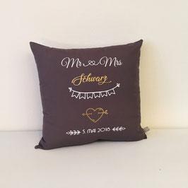 Hochzeitskissen Mr&Mrs