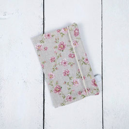 Mutter-Kind-Pass Hülle Rosen klein