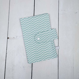 Windeltasche Chevron mint