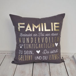 Themenkissen FAMILIE