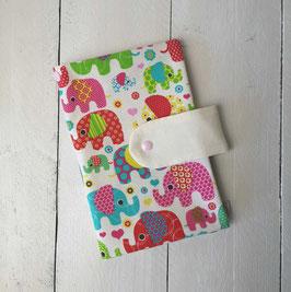 Windeltasche Elefantentreffen bunt