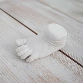 3D Abdruck Babyfüßchen & Babyhändchen