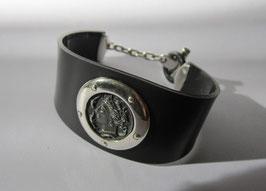 Bracciale in argento modello schiava
