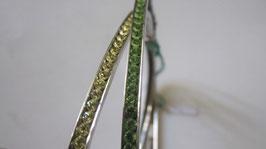 Bracciali rigidi stile tennis in argento