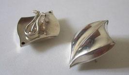 Foglia argento 4cm