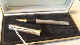 Penna stilografica in argento 925 firmata Davide Tessari - Modello Argento