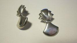 Orecchini lastra in argento
