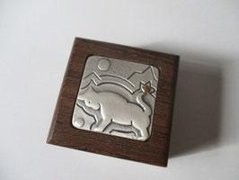 Mini scatola porta gioie Segno zodiacale del toro