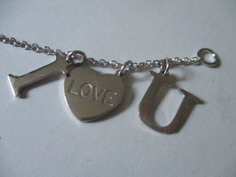 "Bracciale ""I love you"""
