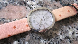Lorenz watches pink strap