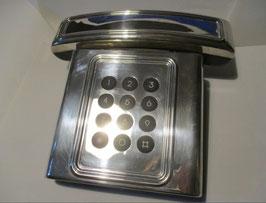 Telefono fisso rivestito in argento 925