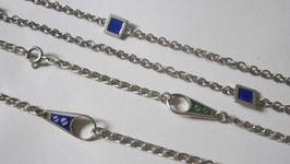 Collane argento motivi smaltati