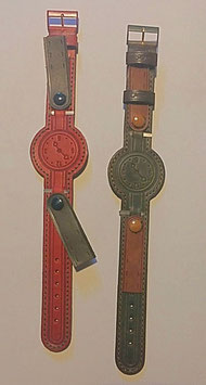 Leather strap adaptable size