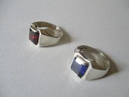 Anello Chevalier in argento 925  pietra a scelta