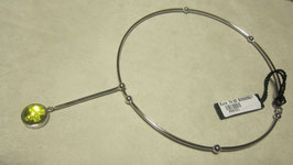 Sisley collana rigida con pendente