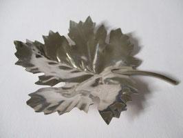 Foglia d'acero in argento