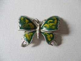 Farfalla smaltata verde