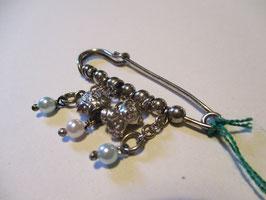 Spilla balia con perline e pendenti