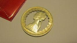 500 lire traforato in argento