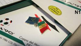 Spille in argento Italia90
