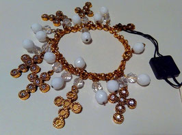 D&G Jewels bracciale croci e perline