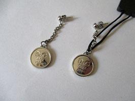 D&G Jewels orecchini pendenti logo