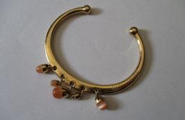Morellato bracciale placcato con perline