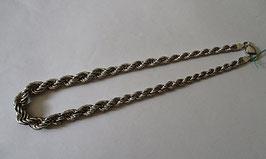 Collana in argento attorcigliata 43gr