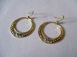 Orecchini in argento e filigrana a cerchio
