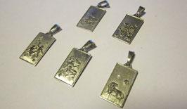 Segni zodiacali classici rettangolari