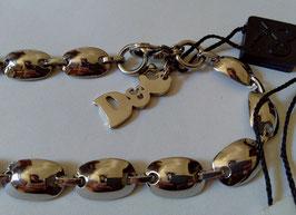 D&G Jewels collana piastrine bombate