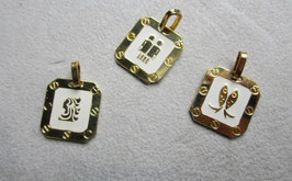 Segni zodiacali argento smaltato