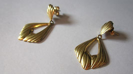 Orecchini oro pendenti