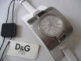 D&G Time orologio in acciaio con cinturino country