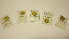 Mini monetine 8 carati