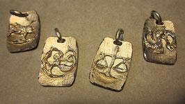 Segni zodiacali realizzati a mano