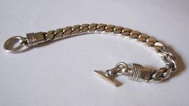Bracciale in argento massiccio