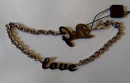 "Collana D&G Jewels ""love"""