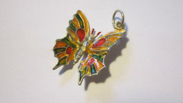 Enamelled butterfly