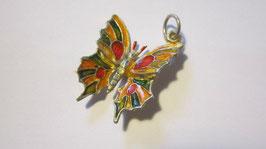 Enamelled butterfly