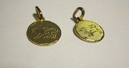 Medaglie segni zodiacali in serigrafia