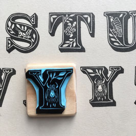 Tampon lettre Y pour Yack